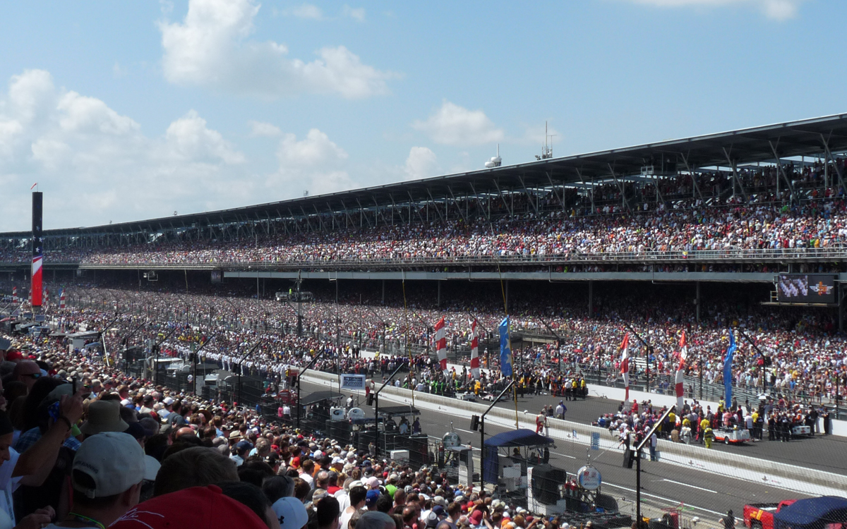 indy 2016 before the start