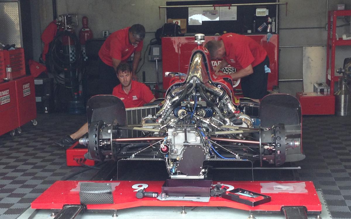 indy 2016 garage