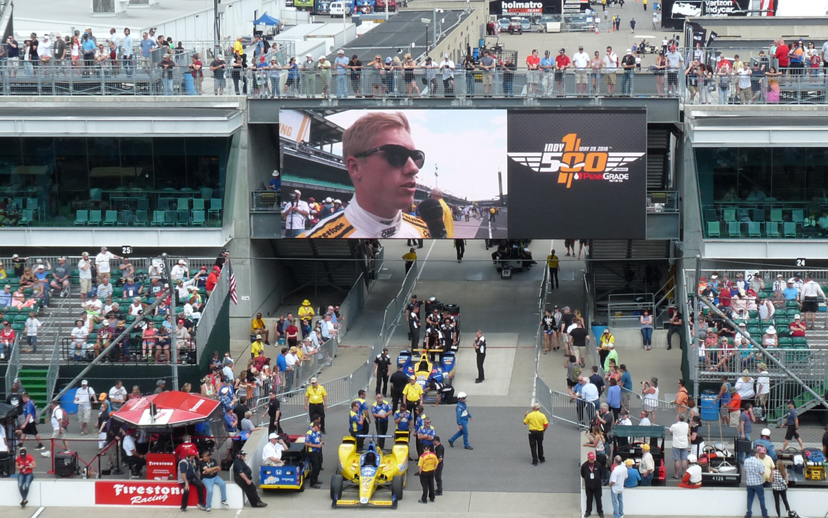 indy 2016 pole day gasoline alley