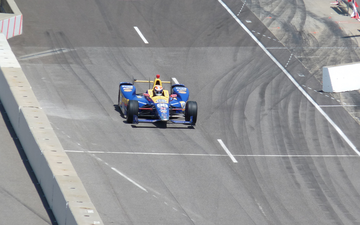 indy 500 alex rossi pole day